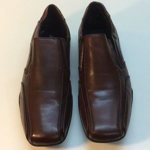 APT. 9 Brown Man Made Loafers Size 10.5